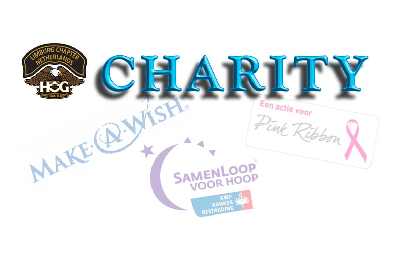 Charity logo van het Limburgs Chapter